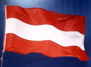 Флаг Австрии.