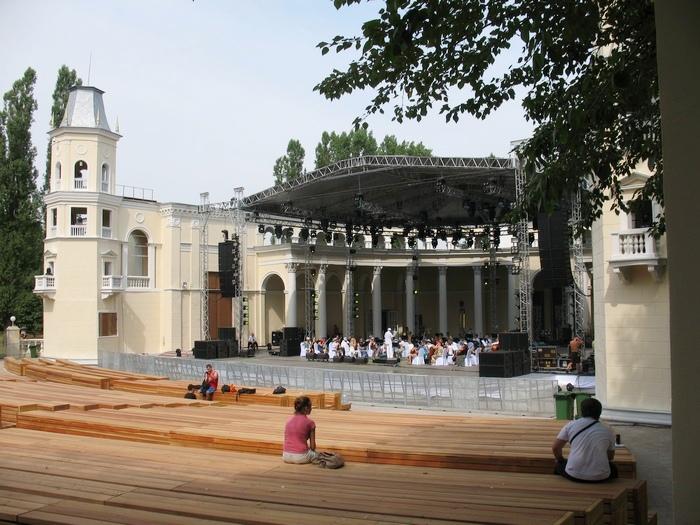 Зелёный театр ВДНХ 2014