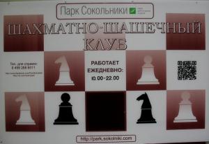 Сокольники шахматы