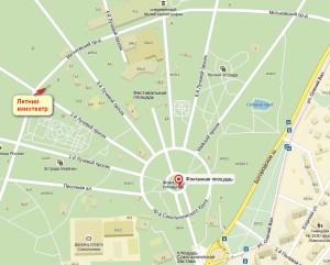 Кинотеатр Сокольники Карта