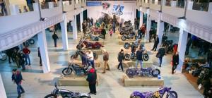 Выставка мотоциклов в Сокольниках