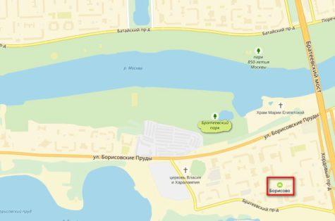 Братеевский парк где находится