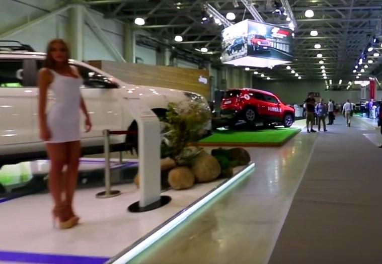 Выставка кроссоверов, внедорожников и вездеходов Moscow Off-road Show  проходит раз в два года в августе, в международном выставочном центре  Крокус Экспо. ... f10eb4e9495