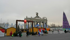 рождественская ярмарка 2014 на ВДНХ