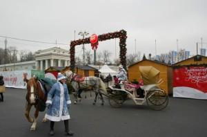 Рождественская ярмарка на ВДНХ