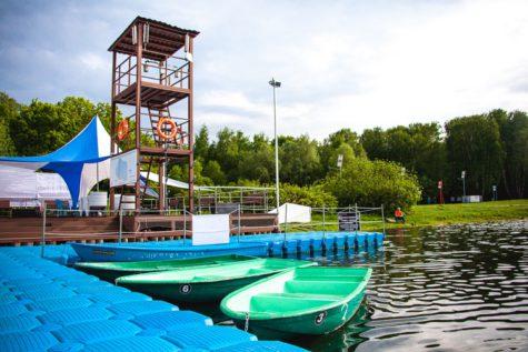 Лодки в Сокольниках_