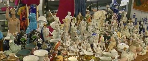 Блошиный рынок на заводе «Кристалл»